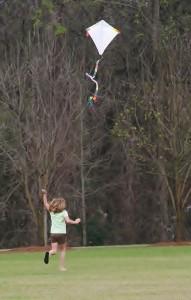 kite in arboretum