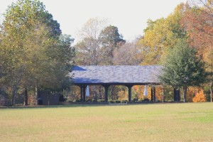 Fall colors at the Pavilion