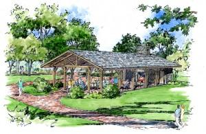 Pavilion rendering